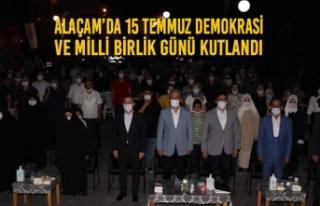 Alaçam'da 15 Temmuz Demokrasi Ve Milli Birlik Günü...