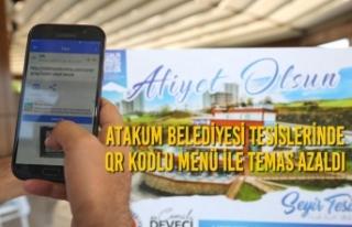 Atakum Belediyesi Tesislerinde QR Kodlu Menü İle...