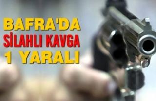 Bafra'da Silahlı Kavga: 1 Yaralı