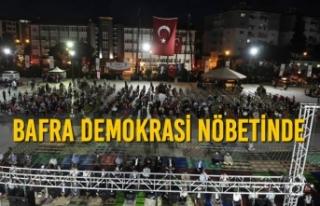 Bafra Demokrasi Nöbetinde