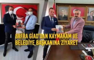 Bafra GİAD'dan Kaymakam ve Belediye Başkanına...