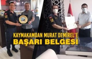 Başçavuş Murat Demirel'den Kaymakam ve Belediye...