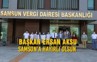 Başkan Aksu: Samsun'a Hayırlı Olsun