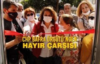 CHP Bafra Örgütü'nden Hayır Çarşısı