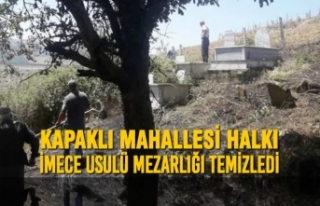 Kapaklı Mahallesi Halkı İmece Usulü Mezarlığı...