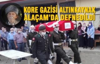 Kore Gazisi Altınkaynak Alaçam'da Defnedildi