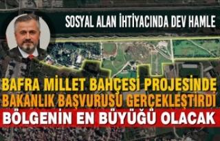 Millet Bahçesi Projesinde Bakanlık Başvurusu Gerçekleştirdi