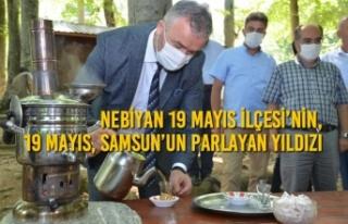 Nebiyan 19 Mayıs'ın, 19 Mayıs, Samsun'un Parlayan...