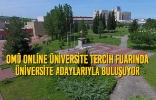 OMÜ Online Üniversite Tercih Fuarında Üniversite...