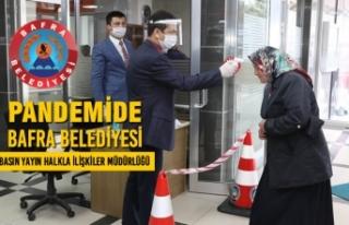 Pandemide Bafra Belediyesi - Basın Yayın Halkla...