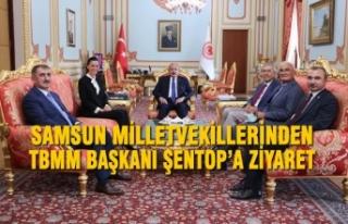 Samsun Milletvekillerinden TBMM Başkanı Şentop'a...