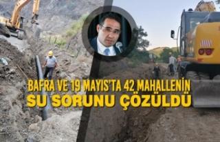 SASKİ; Bafra ve 19 Mayıs'ta 42 Mahallenin Su Sorunu...