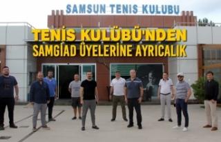 Tenis Kulübü'nden SAMGİAD Üyelerine Ayrıcalık