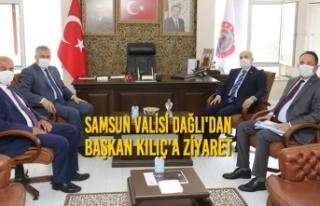 Vali Dağlı'dan Başkan Kılıç'a Ziyaret
