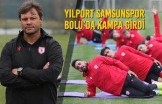 Yılport Samsunspor Bolu'da Kampa Girdi