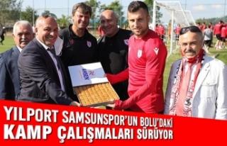 Yılport Samsunspor'un Bolu'daki Kamp Çalışmaları...