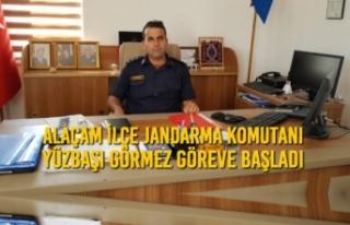 Alaçam İlçe Jandarma Komutanı Görmez Göreve...