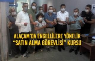 """Alaçam'da Engellilere Yönelik """"Satın Alma Görevlisi""""..."""
