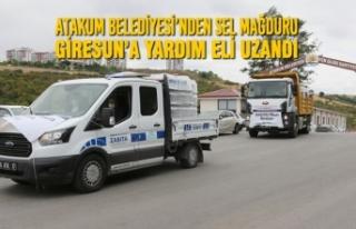 Atakum Belediyesi'nden Sel Mağduru Giresun'a...