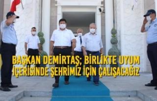 Başkan Demirtaş; Birlikte Uyum İçerisinde Şehrimiz...