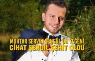 Muhtar Servet Şengül'ün Yeğeni Cihat Şengil...