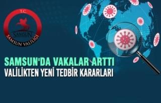 Samsun'da Vakalar Arttı, Valilikten Yeni Tedbir...