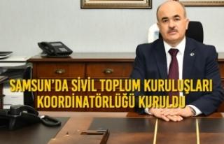 Samsun'da Sivil Toplum Kuruluşları (STK) Koordinatörlüğü...