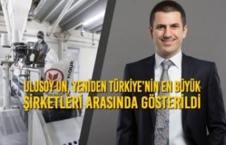 Ulusoy Un, Yeniden Türkiye'nin En Büyük Şirketleri...