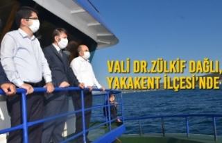 Vali Dr.Zülkif Dağlı, Yakakent İlçesi'nde