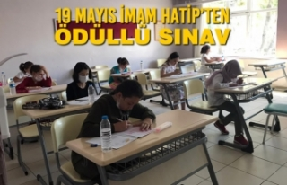 19 Mayıs İmam Hatip'ten Ödüllü Sınav