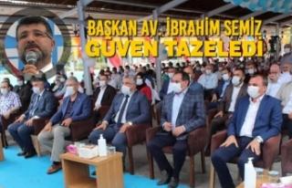 AK Parti Bafra'da Av. İbrahim Semiz'le, Devam...