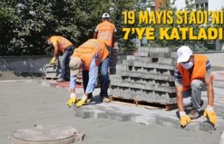 Atakum Belediyesi Kentin Sokaklarını 2 Milyon Adet...