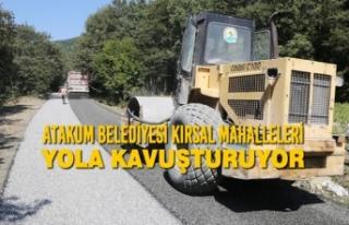 Atakum Belediyesi Kırsal Mahalleleri Yola Kavuşturuyor