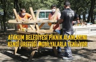 Atakum Belediyesi Piknik Alanlarını Kendi Ürettiği...