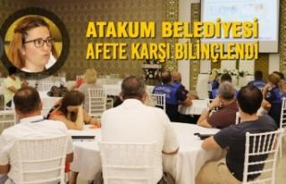 Atakum Belediyesi'nde AFAD'tan Afet Eğitimi
