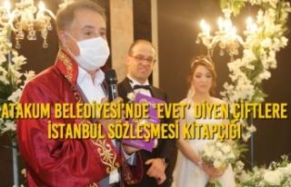 Atakum Belediyesi'nde 'Evet' Diyen Çiftlere...