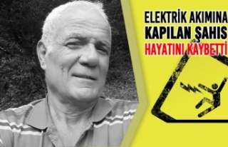 Bafra'da Elektrik Akımına Kapılan Şahıs...