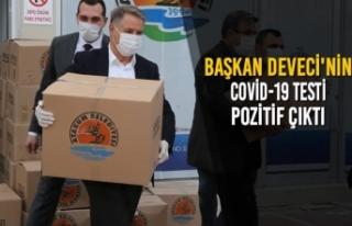 Başkan Cemil Deveci Koronavirüse Yakalandı