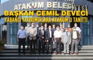Başkan Cemil Deveci Yabancı Yatırımcılara Atakum'u...