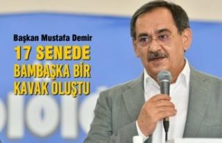 Başkan Mustafa Demir, AK Parti Kavak Kongresinde...