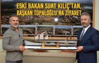 Eski Bakan Suat Kılıç'tan, Başkan Osman Topaloğlu'na...