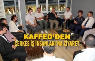 KAFFED'den Çerkes İş İnsanları'na Ziyaret