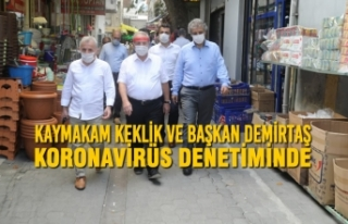 Kaymakam Keklik Ve Başkan Demirtaş Koronavirüs...
