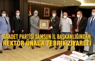Saadet Partisi Samsun İl Başkanlığından Rektör...
