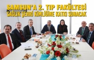 Samsun'a 2. Tıp Fakültesi Sağlık Şehri Kimliğine...