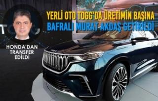 Yerli Oto TOGG'a Honda'dan Üst Düzey Transfer
