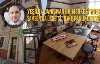Yeşilay Danışmanlık Merkezi'nden Samsun'da...