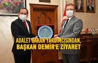 Adalet Bakan Yardımcısından, Başkan Demir'e...