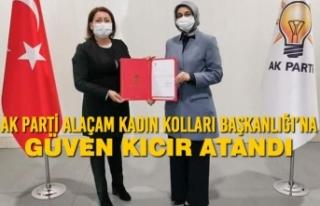 AK Parti Alaçam Kadın Kolları Başkanlığı'na...