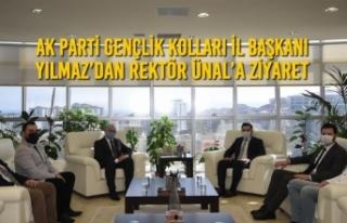 AK Parti Gençlik Kolları İl Başkanı Yılmaz'dan...